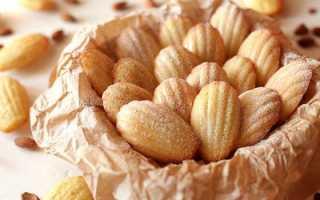 Печенье Мадлен – 7 рецептов французского бисквитного печенья