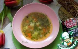 Суп с картошкой и вермишелью