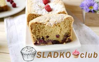 Шарлотка с малиной – вкуснейший пирог с простыми рецептами