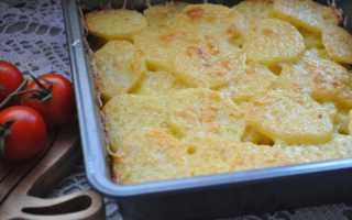 Картошка с сыром – 8 очень вкусных рецептов