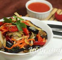 Хе из баклажанов, или Кади Хе, – рецепт с фото, как приготовить салат по-корейски