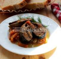 Рецепт аппетитной сельди на овощной подушке в мультиварке