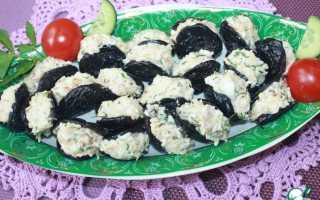 Чернослив фаршированный грецкими орехами – закуска или десерт? Лучшие рецепты чернослива, фаршированного грецкими орехами