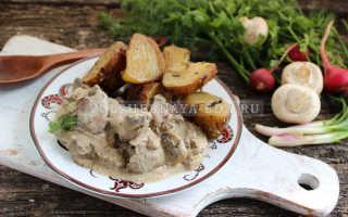 Многообразие рецептов куриной печени с грибами. Что можно добавить в блюда из куриной печени с грибами: овощи, сметану, сливки