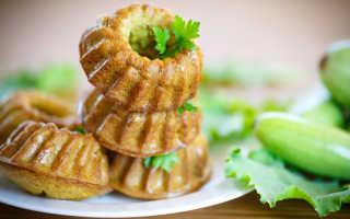 Кексы из кабачков: простые и вкусные рецепты с фото