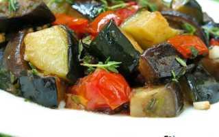 Тушеные овощи с баклажанами и кабачками: рецепты на любой вкус