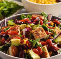Салаты с фасолью и сыром – сытные и питательные! Рецепты повседневных и праздничных салатов с фасолью и сыром