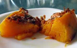 Тыква с медом запеченная в духовке — 7 рецептов