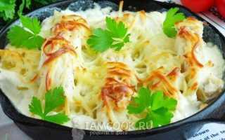 Треска с картошкой в духовке: рецепты