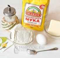 Песочное печенье рецепт с творогом