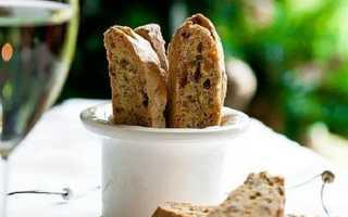 Бискотти – рецепт классический (итальянское печенье)