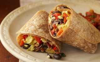Мексиканский бурито: рецепт с фото