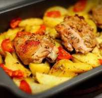 Курица с картошкой запеченная в духовке: 5 рецептов вкусного блюда