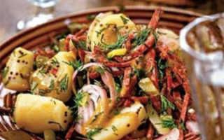 Картофельный салат классически – рецепт «Немецкий»