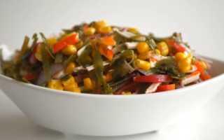 Салат с морской капустой и яйцом: рецепт с фото