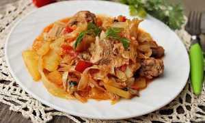 Тушеная капуста с картошкой — 6 рецептов