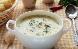 Нежный суп-пюре с ароматным плавленым сыром