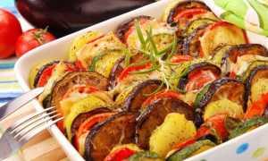 Овощи в духовке запеченные крупными кусками: лучшая подборка рецептов