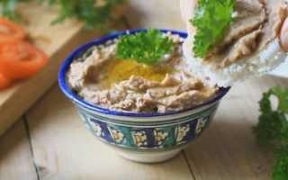 Как приготовить паштет из фасоли по пошаговому рецепту с фото