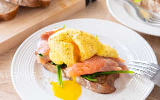 Классический рецепт яиц бенедикт под соусом голландез