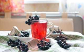 Как приготовить компот из черноплодной рябины?