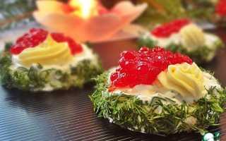 Бутерброды с красной икрой: рецепты приготовления, особенности оформления и отзывы