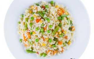 Рис и овощи – овощной рис. Бесподобный гарнир