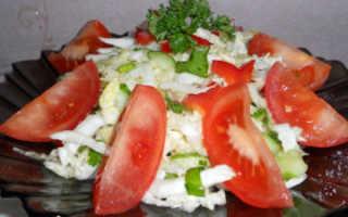 Салат с пекинской капустой помидорами: томатно-капустное наслаждение