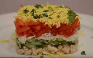 Салат с курицей и огурцом: раз салатик, два салатик…
