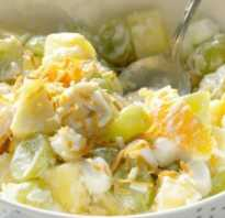 Фруктовый салат: приготовление