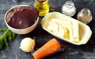Печеночный рулет с маслом. Пошаговый рецепт с фото