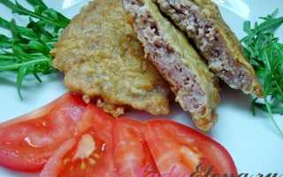 Как приготовить отбивные из свинины, говядины, курицы, фарша и печени?