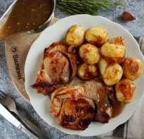 Жареная свинина в соевом соусе с медом и чесноком
