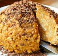 Торт из кукурузных палочек– любимое лакомство времен Советского Союза