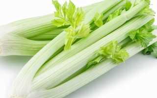 Салат из стебля сельдерея для похудения: приготовление