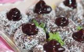 Рецепты приготовления шоколадных пирожных