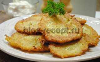 Рецепт драники картофельные с капустой