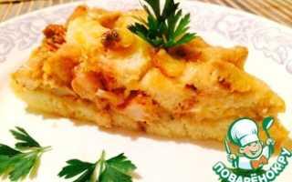 Пирог с грибами (шампиньонами) — 3 великолепных рецепта с фото