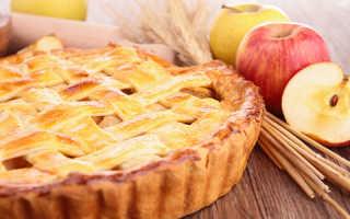 Самые вкусные рецепты постного яблочного пирога