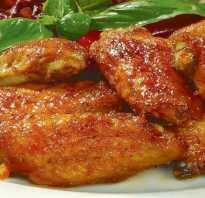Рецепт маринада для куриных крылышек