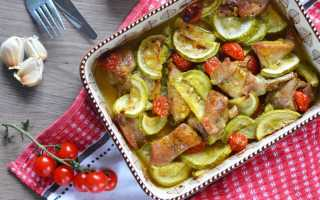 Индейка с кабачками в духовке — полезная и вкусная еда