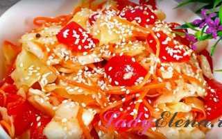 Капуста по-корейски быстрого приготовления – самые вкусные рецепты