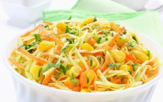 Салат из свежей капусты вкусный с фото