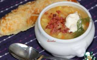 Картофельный суп: приготовление с фото