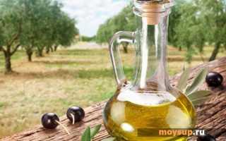 Салат с оливковым маслом овощной