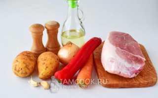Мясной соус с картошкой и не только