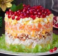 Салат с гранатом – 9 очень вкусных рецептов