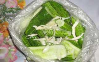 Хрустящие малосольные огурцы в пакете: быстрый рецепт за 5 минут с чесноком и укропом »