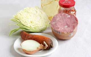 Тушеная капуста с колбасой — 7 рецептов приготовления