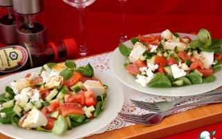 Салат с сыром сиртаки рецепт